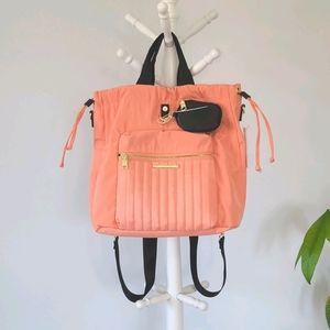 STEVE MADDEN 4in1 Interchangeable Coral Backpack